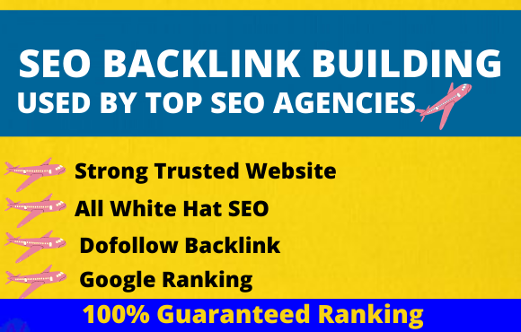 I will provide 150 pr9 permanent do-follow SEO backlinks high quality link building Service