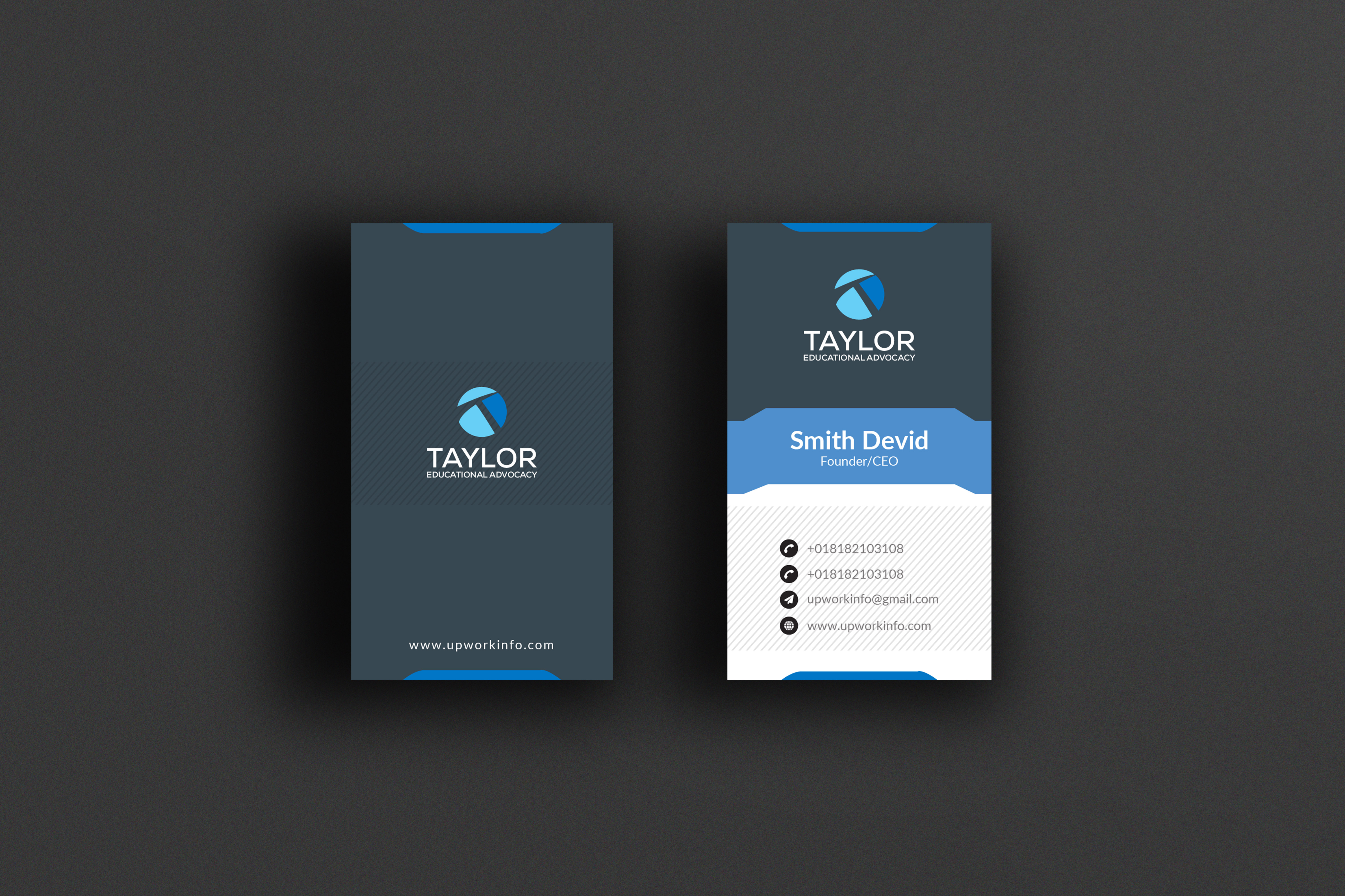 I will do professional business card design, letterhead, and stationery