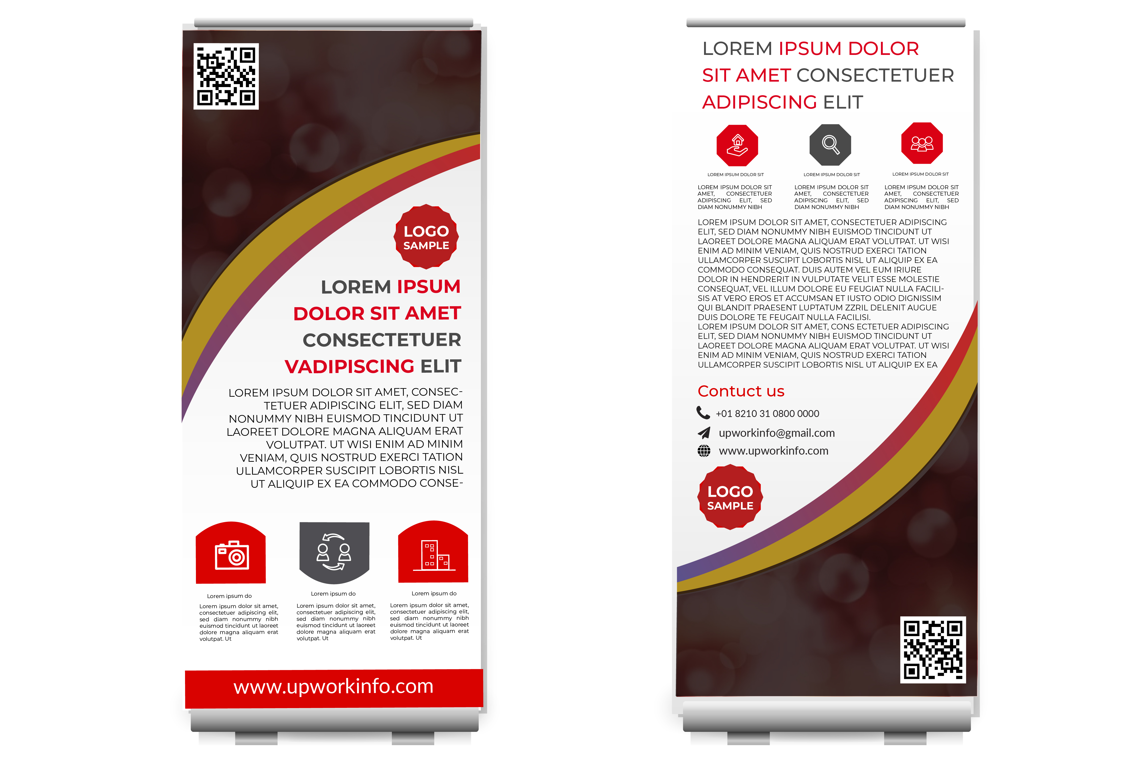 I will design amazing banner adds