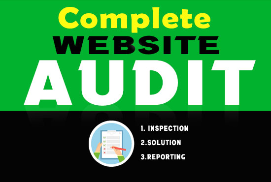 I will do website audit to uncover SEO problems in your website