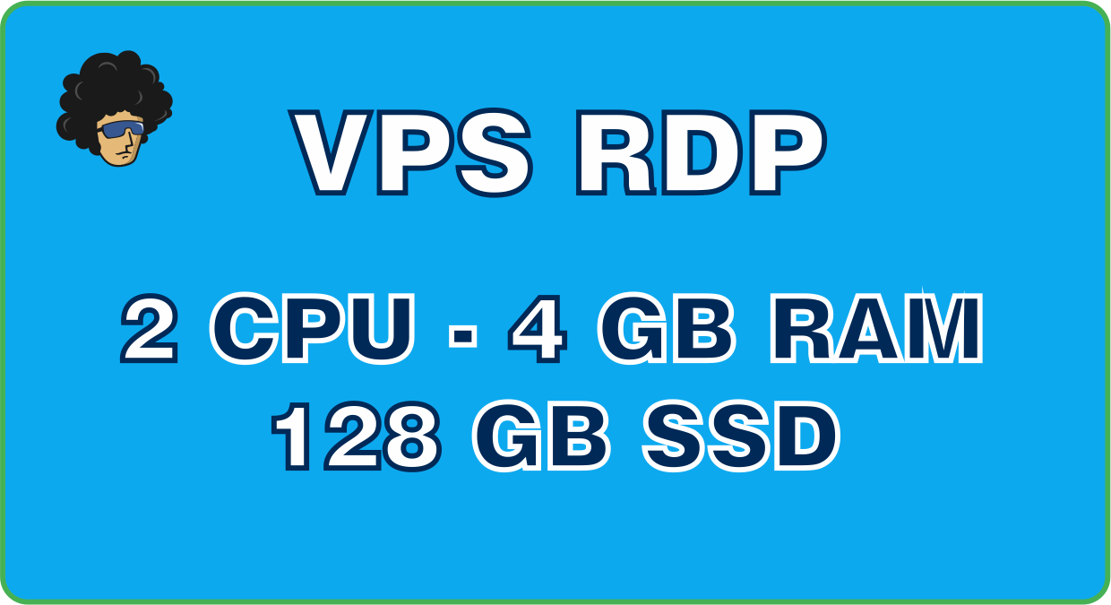 Provide VPS Windows 2vCPU 4GB RAM