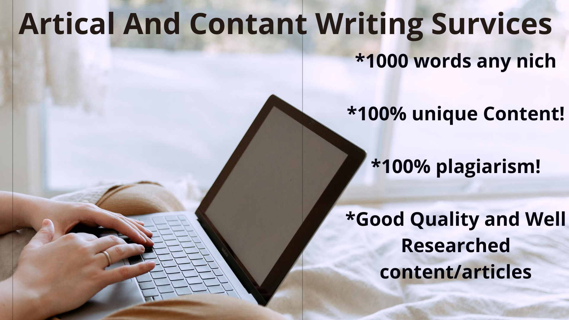 I will write 1000 words SEO article / Content on Any Topic