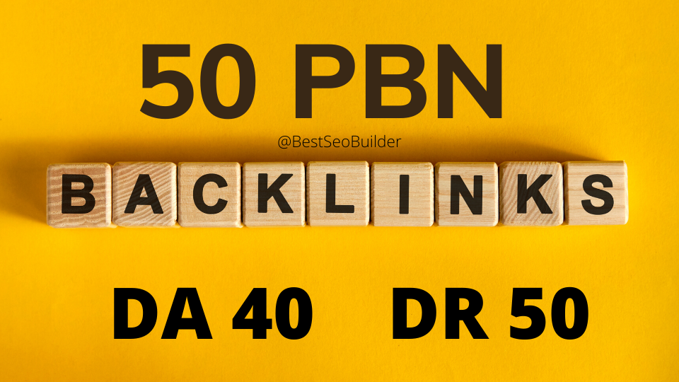 50 web 2.0 PBN from unique 50 domain