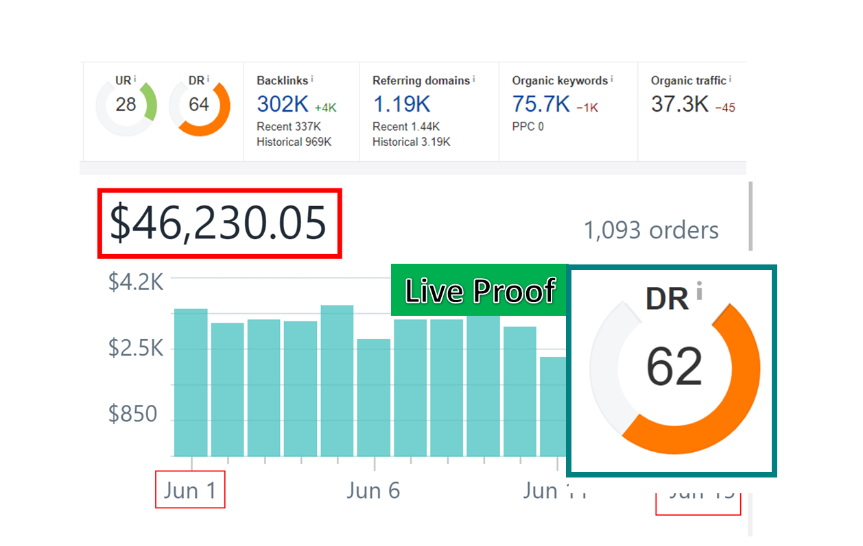 I will increase your Ahrefs Domain rating 0 to 40+ for boost your website ranking