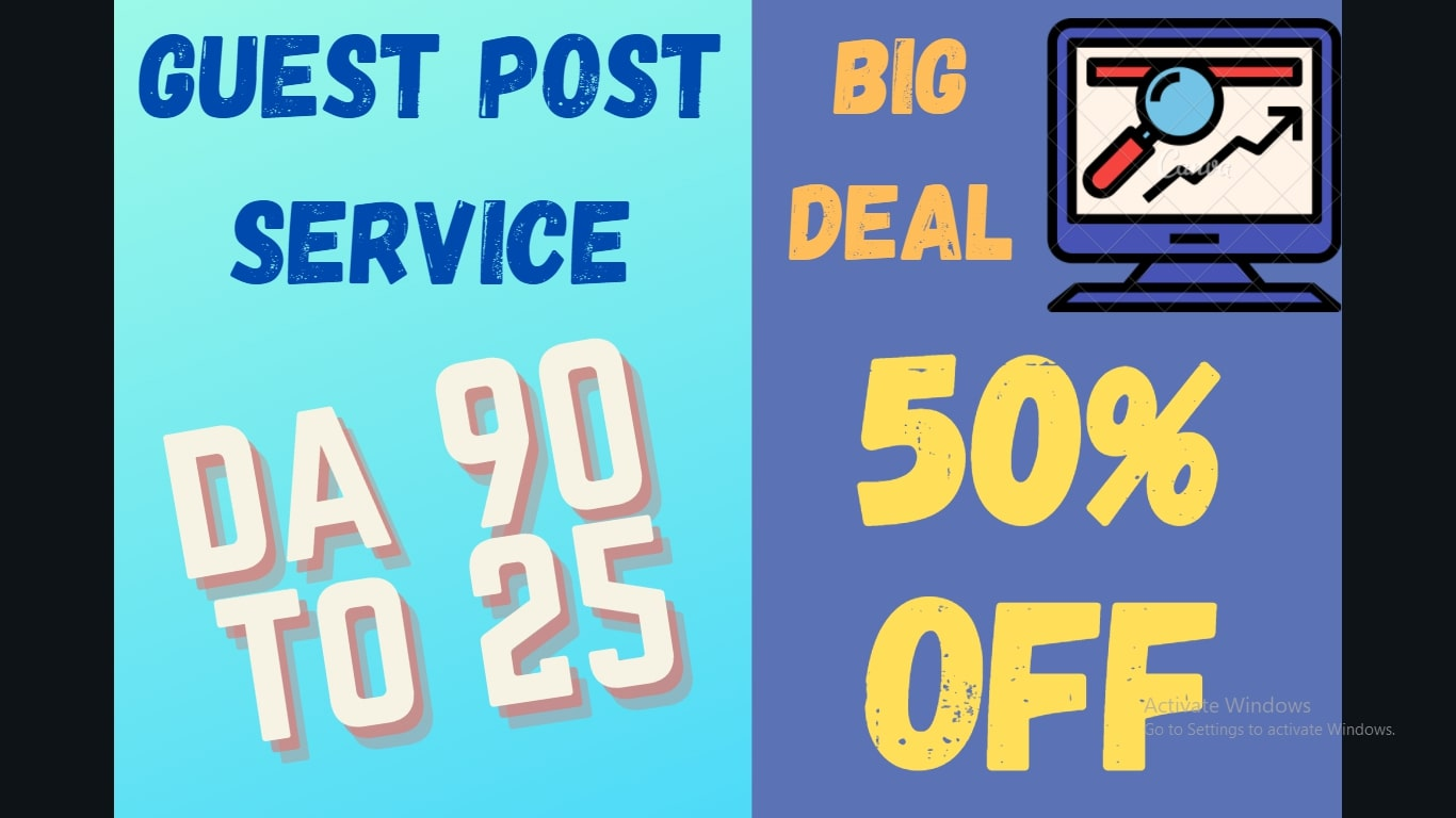 I will do 10 guest post backlinks on high DA sites DA 90-25