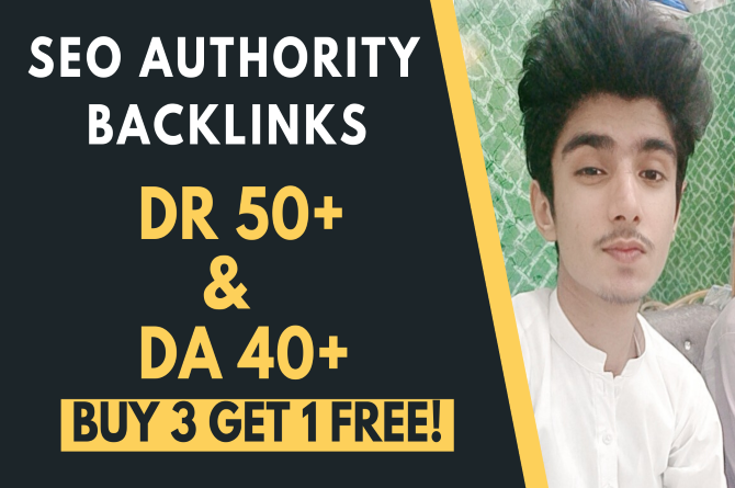 I will provide 10 DR 50 Plus backlinks to boost your site