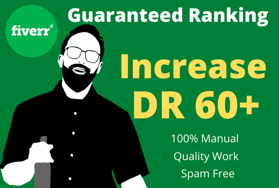I will increase domain rating DR ahrefs domain trust authority