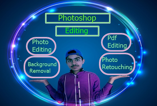 I will do any type of Photoshop work