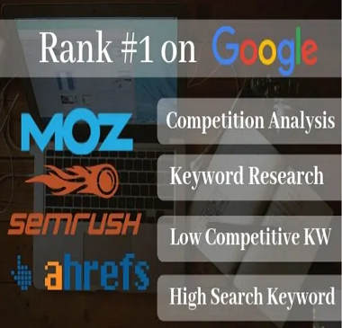 excellent SEO keyword research and top competitor analysis in 24 hours