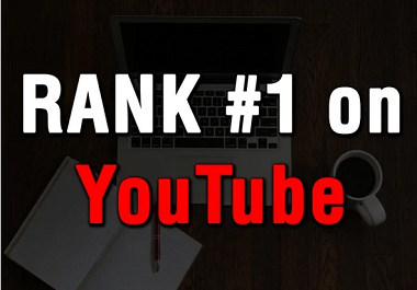 I will do youtube SEO for videos rank on the 1st page for 5