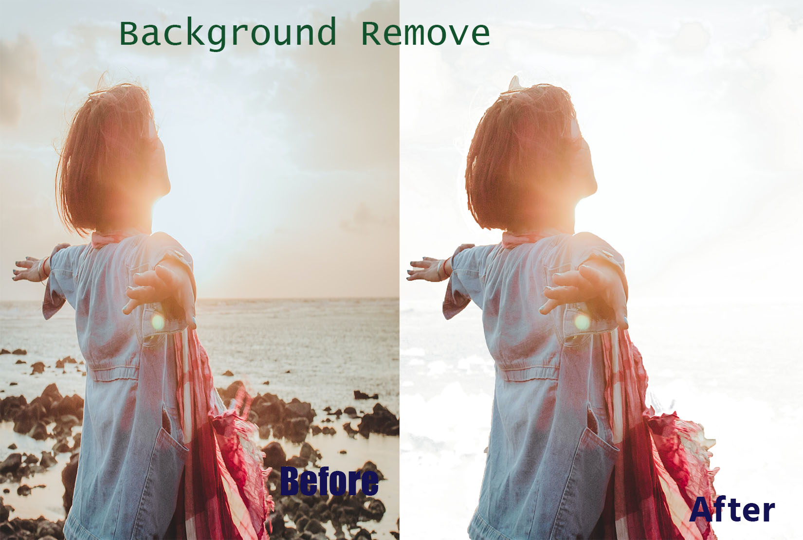 I will do any photoshop editing,  background remove and retouching professional.