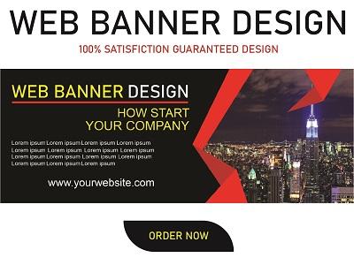 I will do web banner design,  banner ads,  facebook ads,  facebook banner