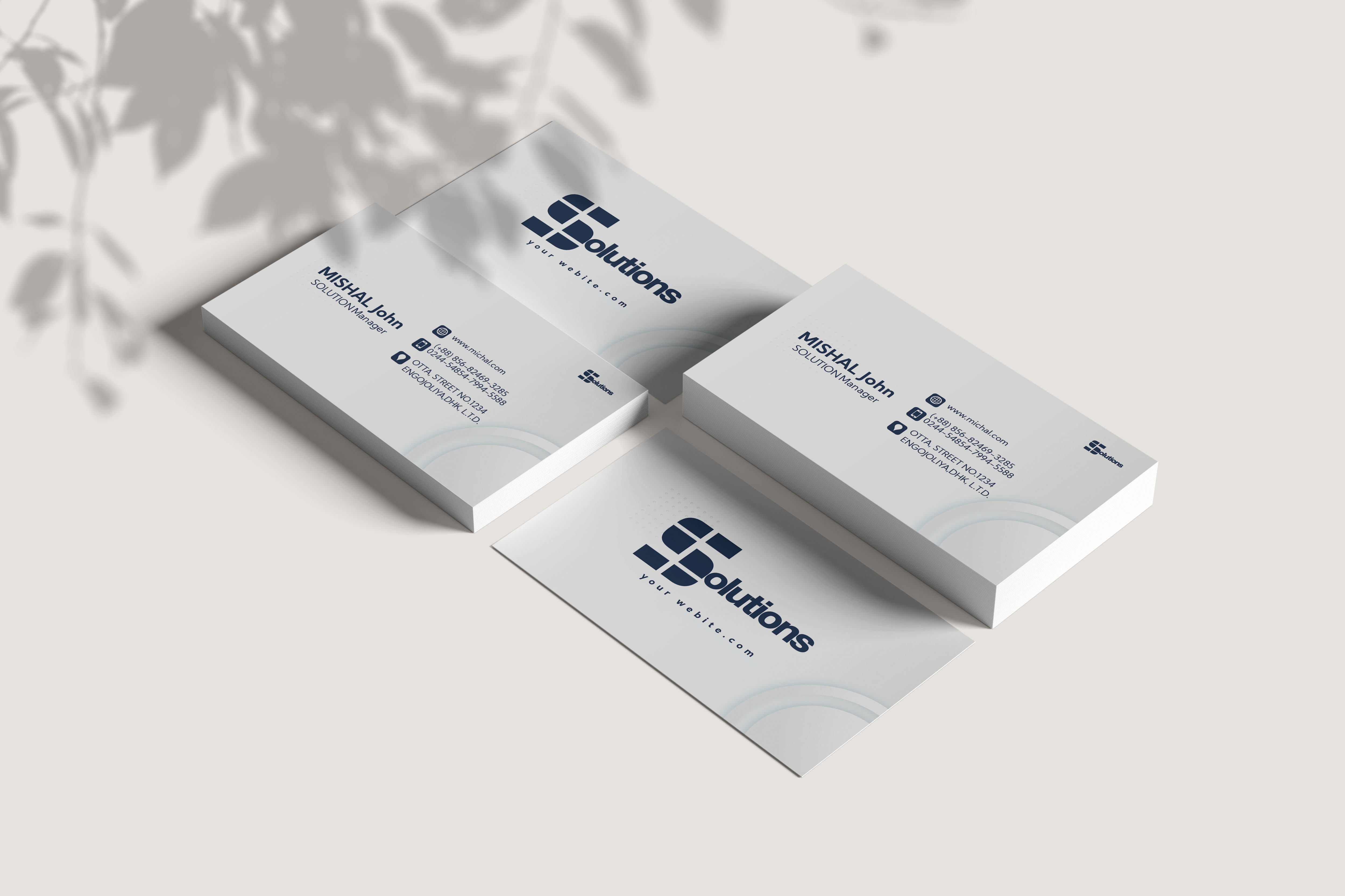 I Will design or redesign elegant double sided business cards