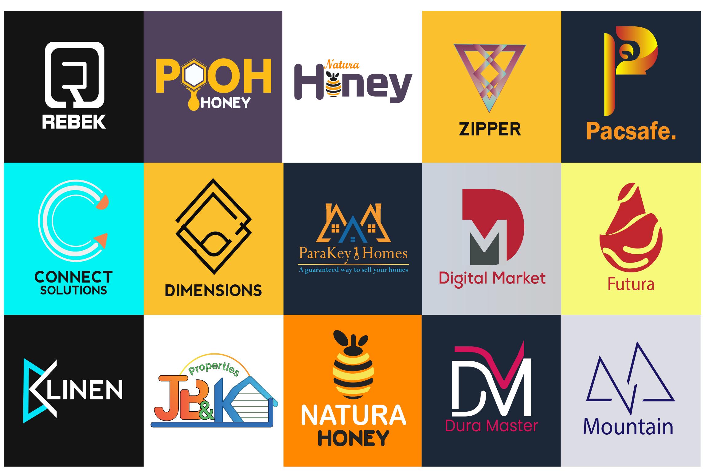 I will design professional business logo,  Custom,  Minimalist logo with copyrights.