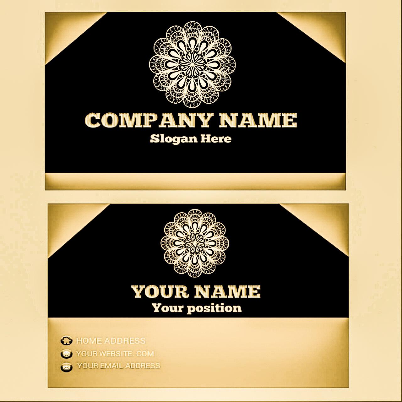 I will create a unique business card design