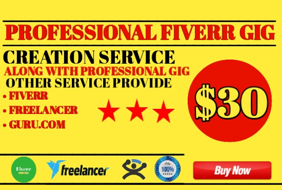 I will create a professional freelance account for you