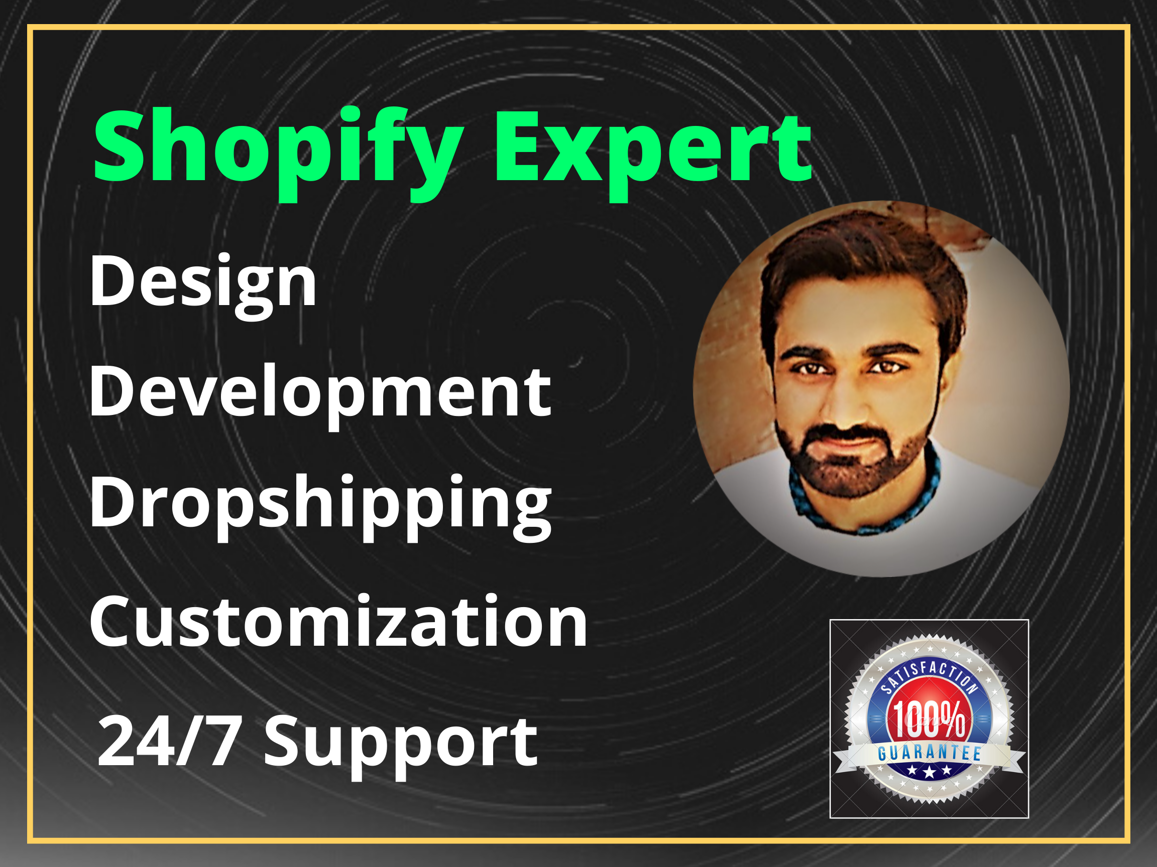 I will marketing and design shopify SEO based dropshipping store or website