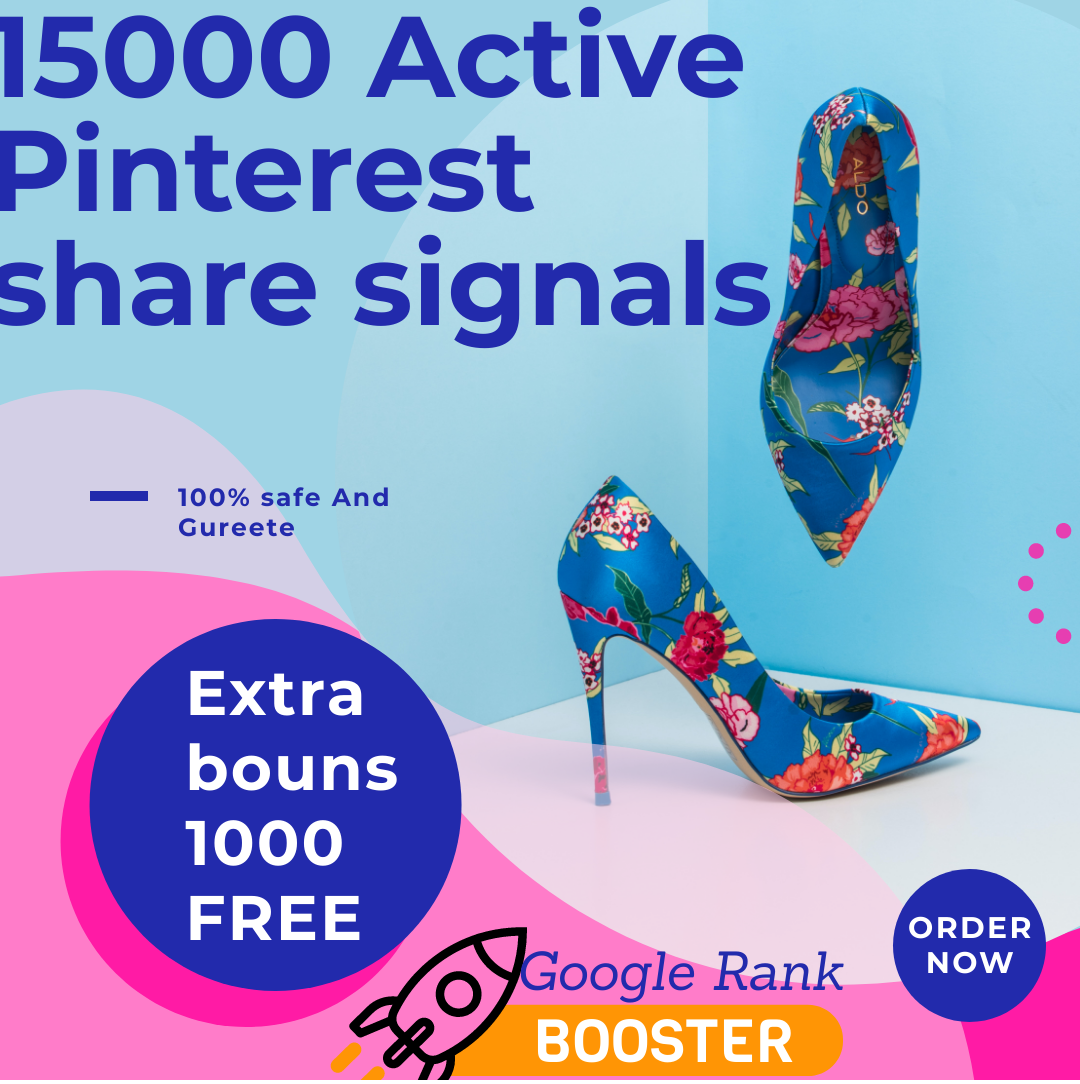 TOP PR 8 PINTERSET FASTREST OFFER 15000+ HQ SOCIAL SIGNALS REAL ACTIVE SHARE FOR SEO GOOGLE RANKING