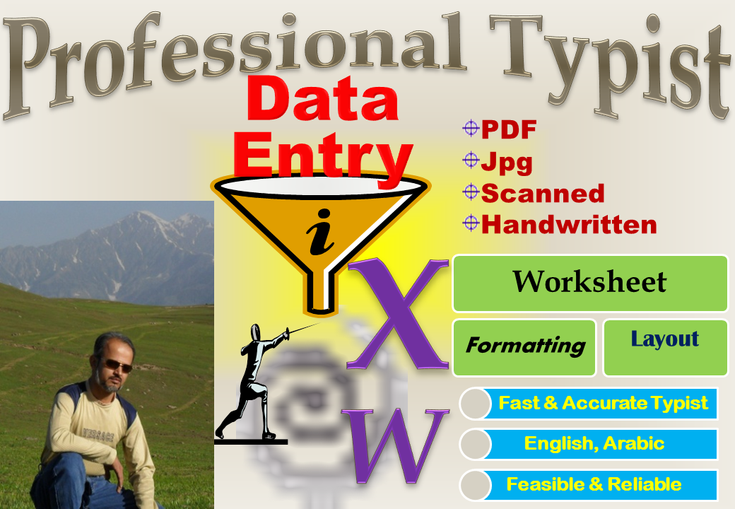 Convert PDF/Scanned/Handwritten Data to MS Word/Excel