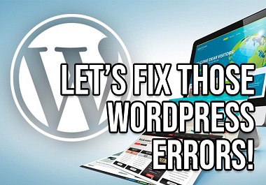 I will fix any type of wordpress errors and issues