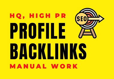 100 Profile Creation Backlinks- High-Authority, High PA DA without Spam Score