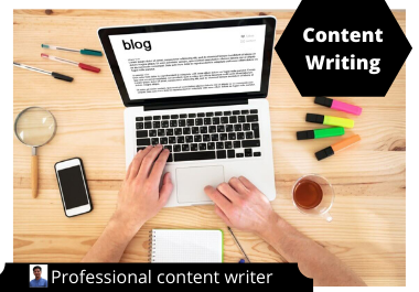 1200+ words SEO optimized Content Writing for your website/blog in any Topic