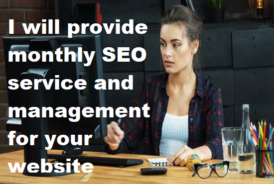 management for your website with monthly SEO service