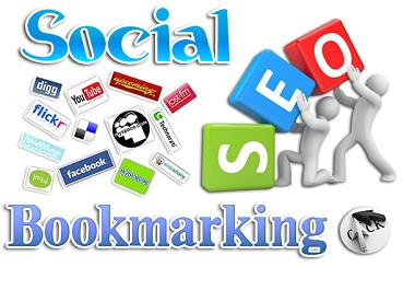 100 social bookmarking on high PR backlinks with live links
