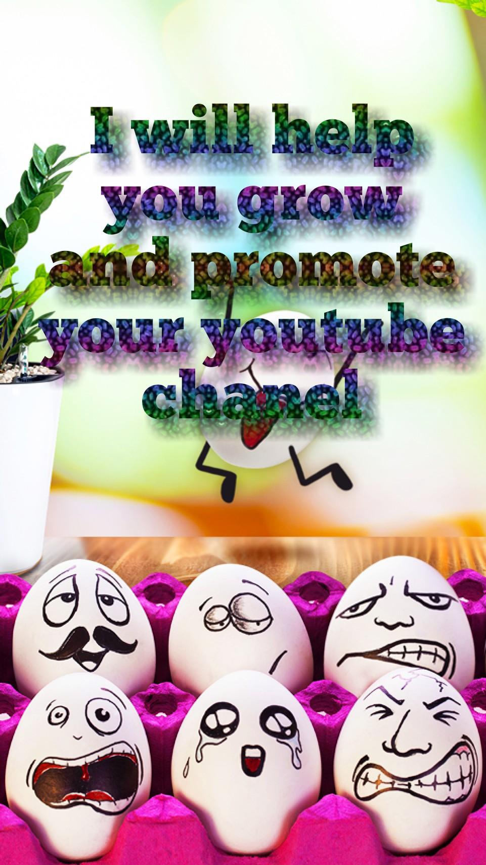 I will help you grow and promote your youtube chanel