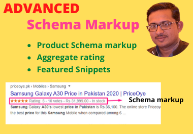 I will integrate advanced schema markup,  rich snippet into your website