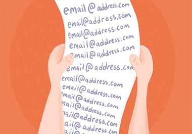 Collect 1k niche Targeted email lists for email marketing campaigns