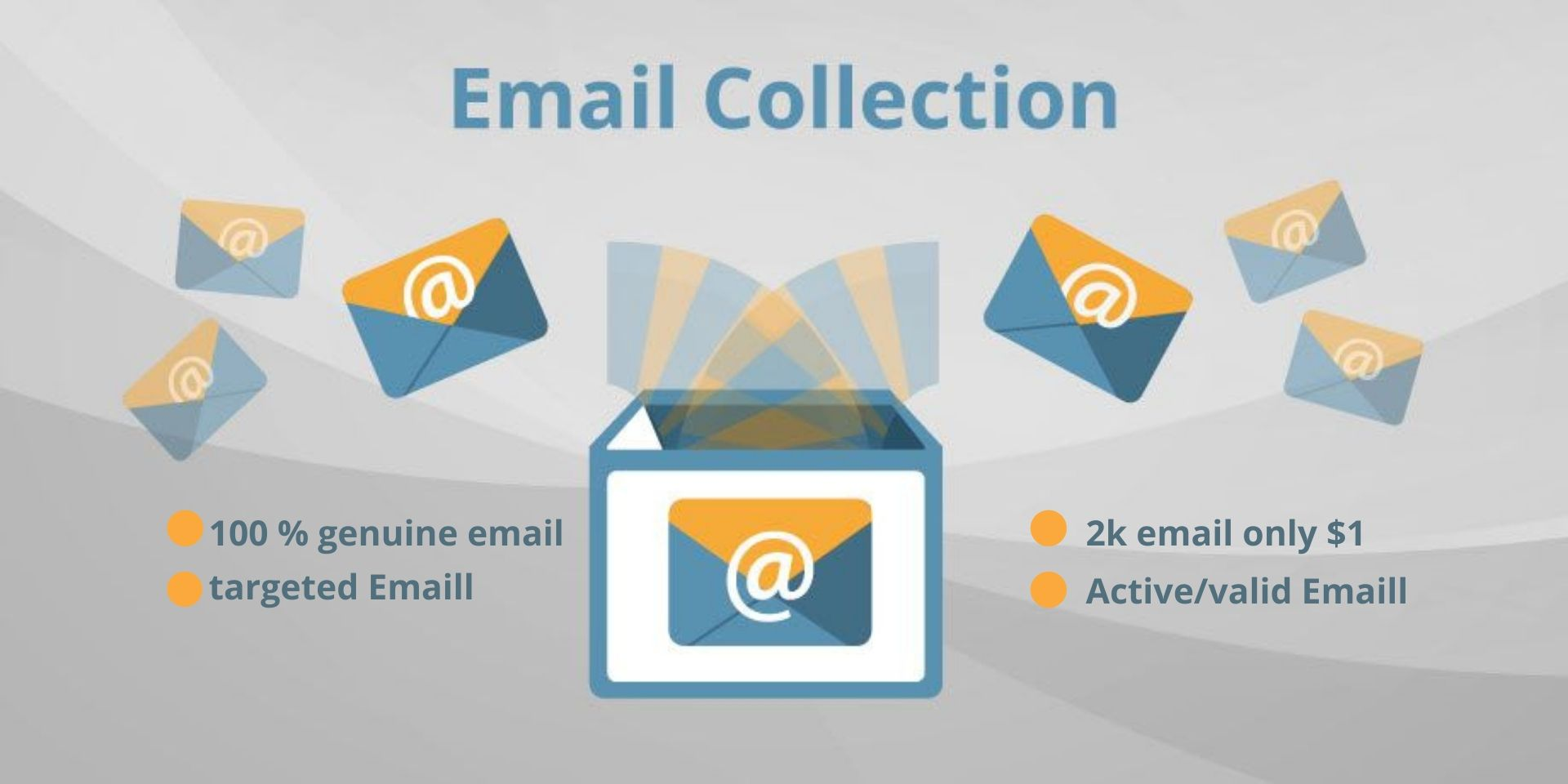I will provide you 1k Active And genuine targeted email for marketing
