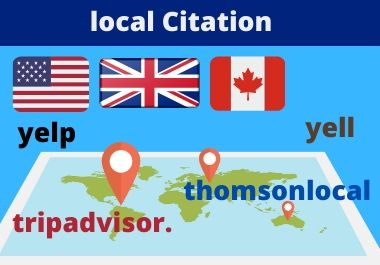 I Will make 30 uk, us, canada, australia Local Citations or Business Listing for your business grow