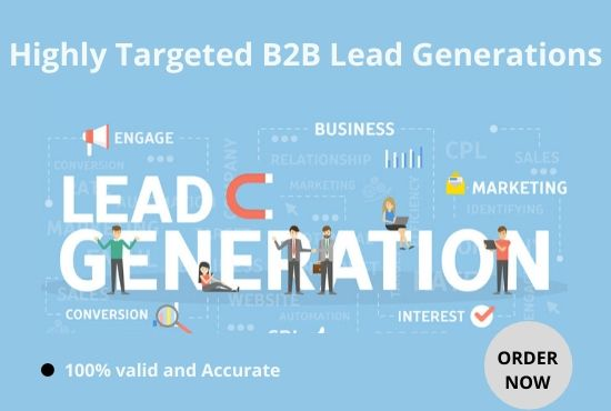 I will generate highly targeted b2b lead generation