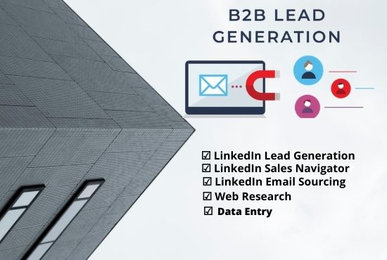 I will collect 100 lead generation for your business