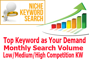 100 I will do economical SEO keyword research and contestant analysis