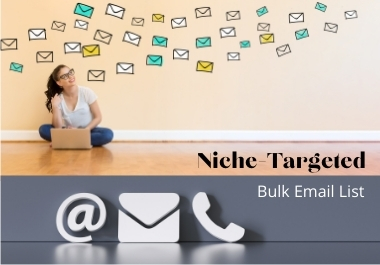 1500 Niche Targeted Email List for Email Marketing