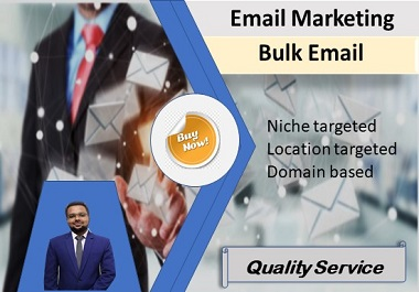 Niche Targeted Email List for Email Marketing