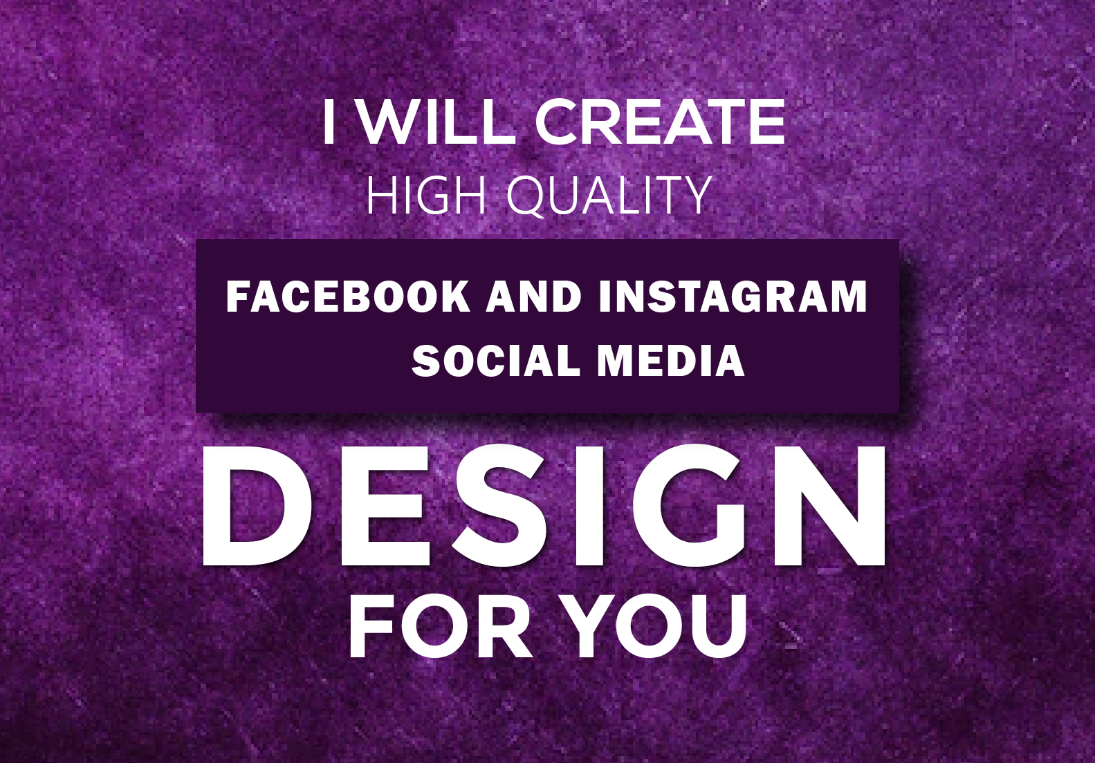 I Will Create High Quality Facebook and Instragram Social Media Posts.