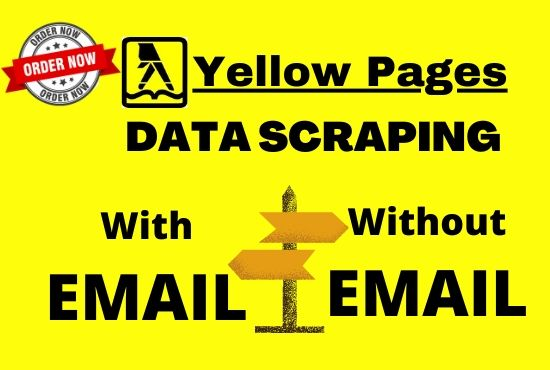 i will do data scraping from yellow pages on targeted niche