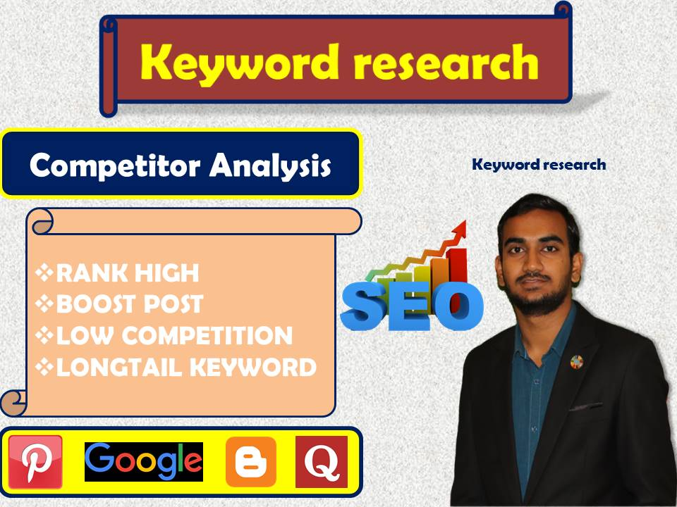 I will do Profitable SEO keyword research and competitor analysis