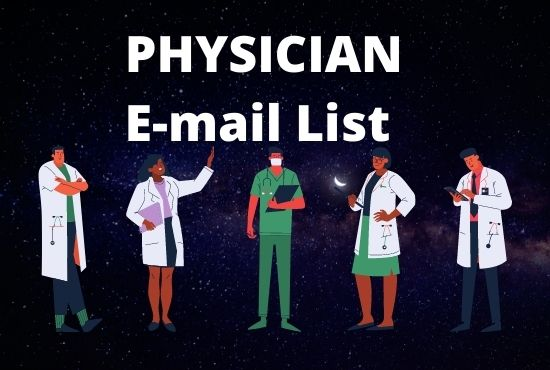I can provide you PHYSICIAN Email List with details