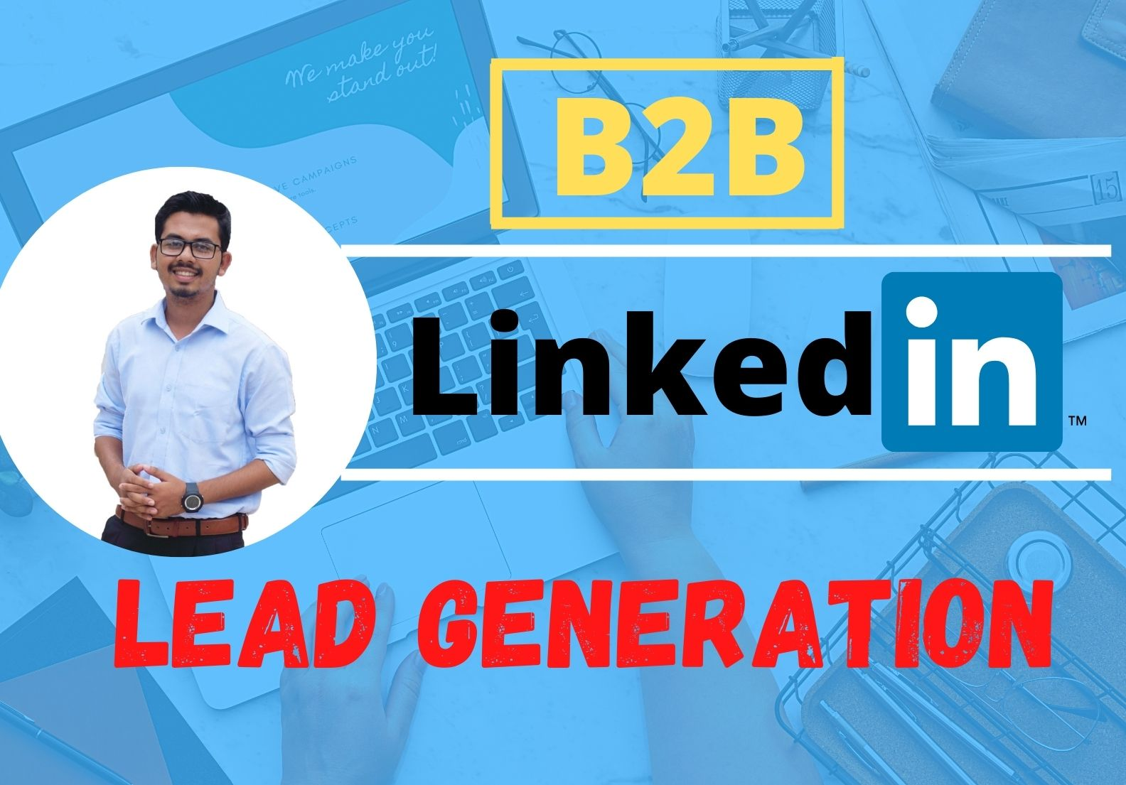 I will provide 100 b2b lead generation and email list