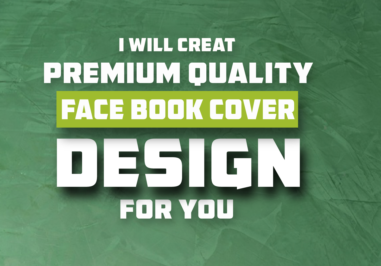 I will create Premium quality Facebook cover and post design for you.