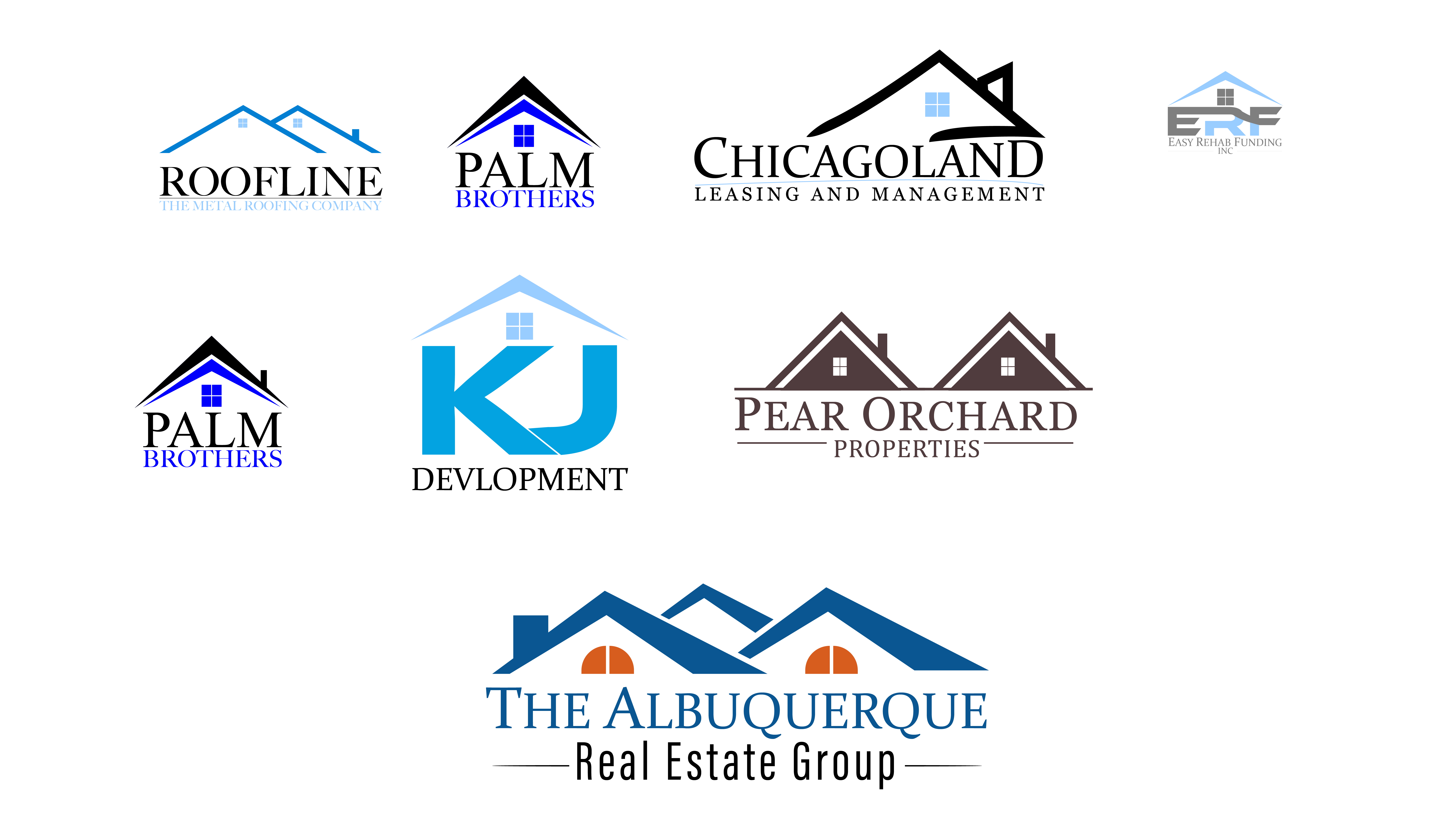 I will design hand drawn fancy real estate signature logo and branding logo unique logo.