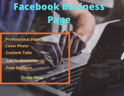 I will create a Facebook page for you