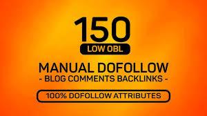 I Will Manually Build 150 uinque Dofollow Blog Comments Backlinks High Da Pa