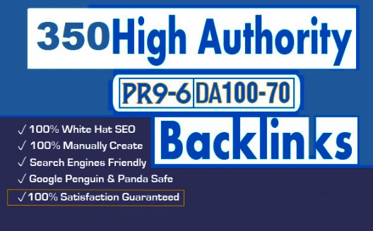 Fabricate 350+PBN Backlink in your site hompage with HIGH DA/PA/TF/CF with interesting sites