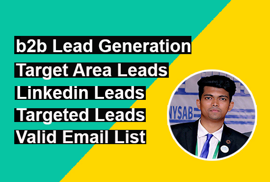 I will do b2b lead generation and prospect email list