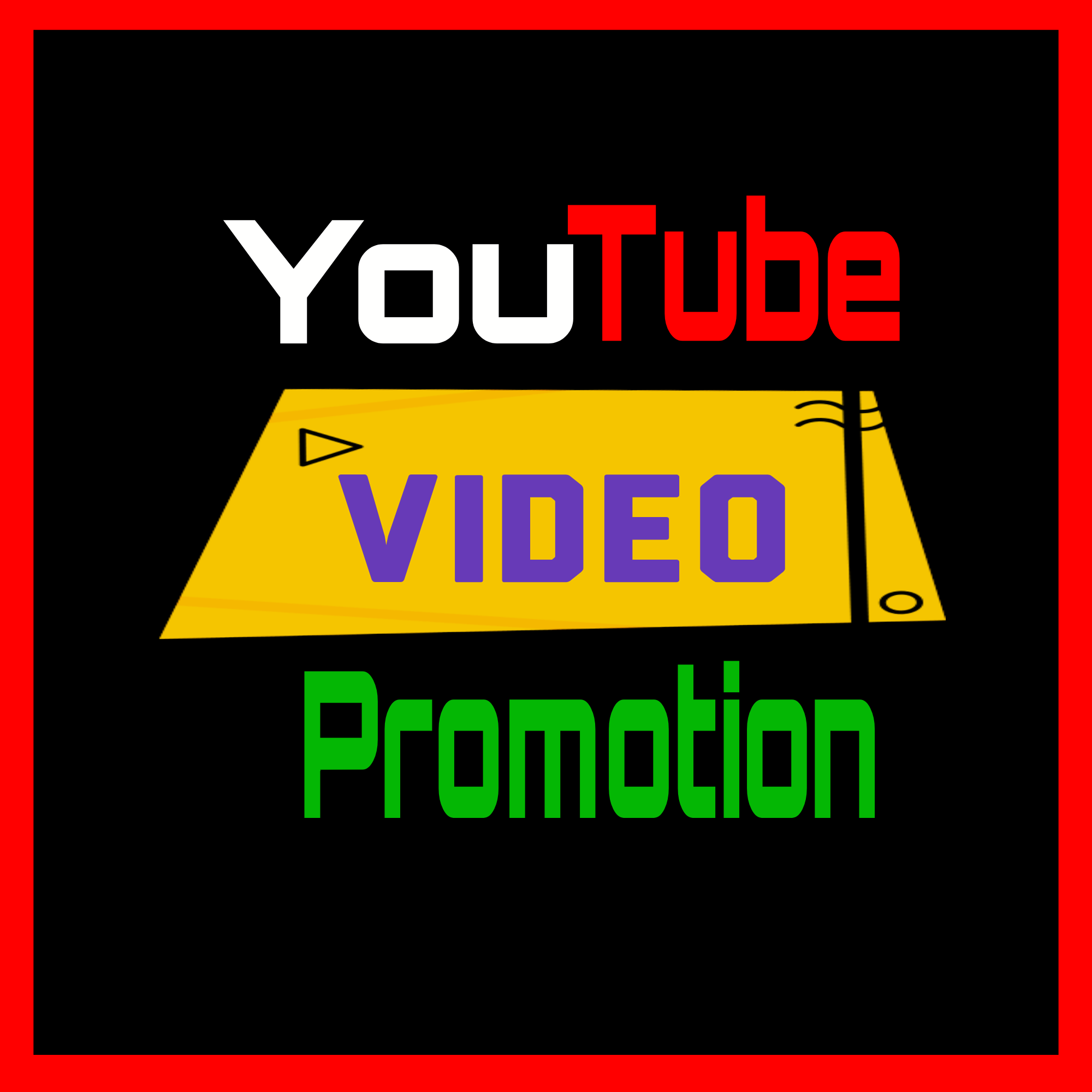 Organic YouTube Videos Promotion Fast Delivery